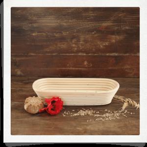 Gärkorb für 1 kg Brot länglich