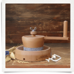 Modèle de moulin à farine à main MH 4